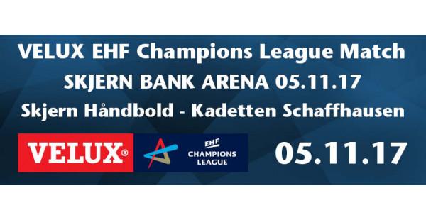 Skjern Håndbold vs Kadetten Schaffhausen