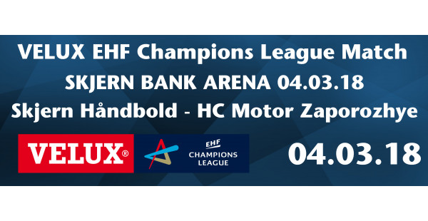Skjern Håndbold vs HC Motor Zaporozhye