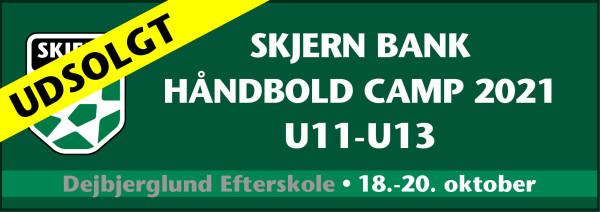 UDSOLGT: Skjern Bank Håndbold Camp 2021 - U11-U13