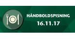 Håndbold Spisning - SønderjyskE 16.11.17